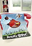 Fleecedecke Angry Birds