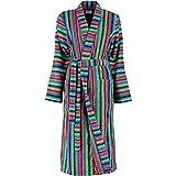 Cawö Kimono Damen-Bademantel 'Lifestyle' Frottier bunt...