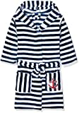 Playshoes Jungen Fleece Ringel Maritim Bademantel, Blau...